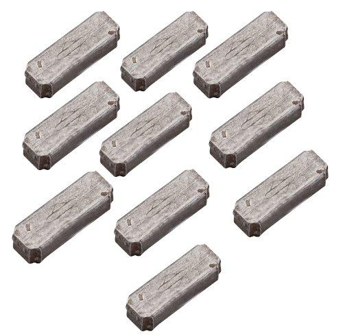 Briggs and Stratton 4181 Lot de 10 clavettes de volants en aluminium