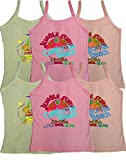 Kids Multicolored Camisole Vests (pack o...