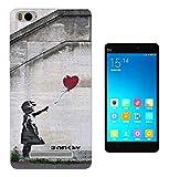 545 - Banksy Balloon Girl Graffiti Art Design Xiaomi Mi 4C