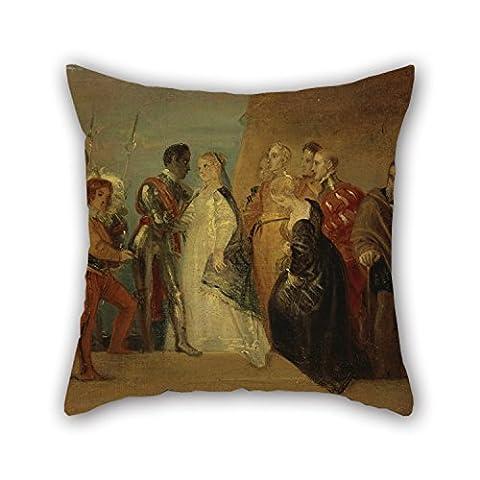 artistdecor 45,7x 45,7cm/45von 45cm Ölgemälde Thomas Stothard–The Return Of Othello,