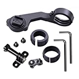 Elecor-Out-Front-Bike-Handlebar-Mount-Kit-for-CatEye-Wireless-Computer-with-GoPro-Hero5-Sony-HDRAS50-SJCAM-Garmin-VIRB-Ultra-30-Action-Camera