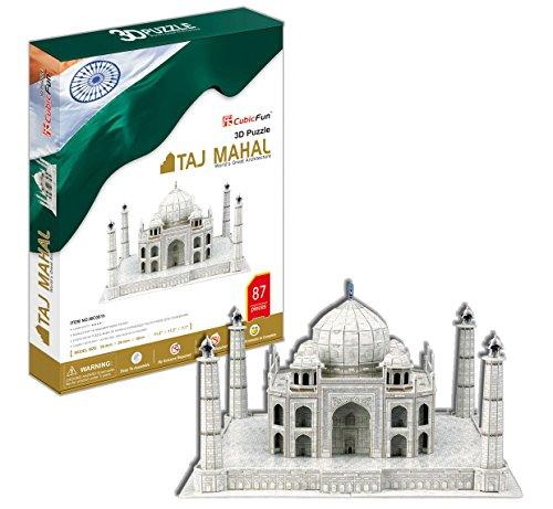 Cubicfun Taj Mahal, Multi Color