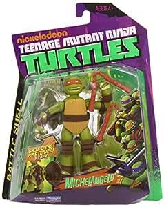 Teenage Mutant Ninja Turtles Action Figure Battle Shell Mike