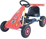 Formule Pro Racing Go Kart - cadre en acier - Missing - pédale d'embrayage réglable - 4-7 yr olds - plaisir en plein air fantastique