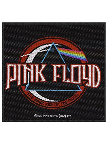 PINK FLOYD DISTRESSED DARK SIDE OF THE MOON Patch Schwarz