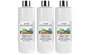 Sage Apothecary Fruits And Vegetables Germs Kills Spray, Virus And Pesticides Spray Bottle - 500 Ml (Pack Of 3)