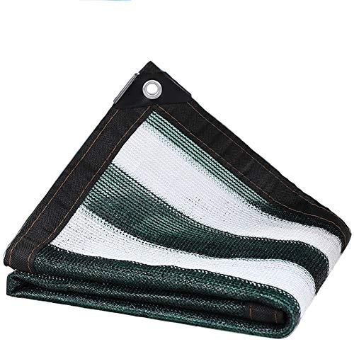 YUN-X Tinten- Und Weiße Schattennetze Dachbalkon-Isolationsnetze Weitere Fleischige Grüne Sonnenschutznetze Schattierungsnetze Gelocht (Farbe : Zebra, größe : 5x8m) - 5 X 8 Zebra