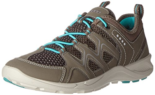 Ecco Damen Terracruise Outdoor Fitnessschuhe, Grau (58440WARM Grey/Dark Clay/Turquoise), 37 EU