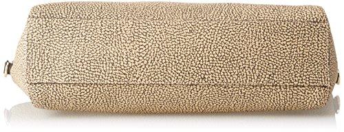 Borbonese Damen Con T Shopper, 33x26x11 centimeters Braun (Safari)