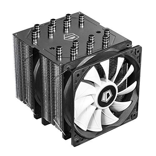 YouN 7 Heatpipe Dual Tower CPU Radiator Fan Heat Sink Cooling Cooler Fan for AM4