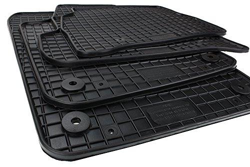 Seat Gummimatten Ibiza/Ibiza ST 6J Fussmatten Gummi Original Qualität Auto Allwetter 4-teilig schwarz