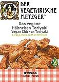 Veganes Hähnchen Teriyaki (6 x 160g ) Soja Fleischersatz mit 17,7% Protein - Low Carb -