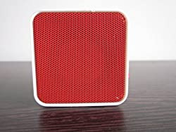 UBON BT-58 Wireless Mobile/Tablet/Laptop Bluetooth Speaker, Call receiver with 4 Hours Back up - Red COLOR