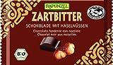Rapunzel Zartbitter Schokolade 60% mit ganzen Nüssen HIH, 6er Pack (6 x 100 g) - Bio