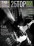 25 Top Rock Bass Songs. Sheet Music for Bass Guitar Tab