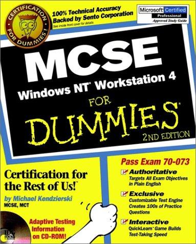 MCSE Windows NT Workstation 4 For Dummies por Mike Kendzierski