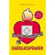Energiespender - Extra große Schrift
