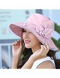 90dca557a4968 Sombreros Sombrero femenino al aire libre sombrero anti-sol plegable  sombrero de sol hecho a