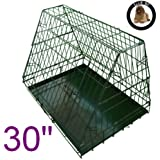 Image of Ellie-Bo Sloping Puppy Cage Folding Dog Crate with Non-Chew... - Comparsion Tool