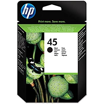 HP 45 Large Black Original Ink Cartridge (51645AE)