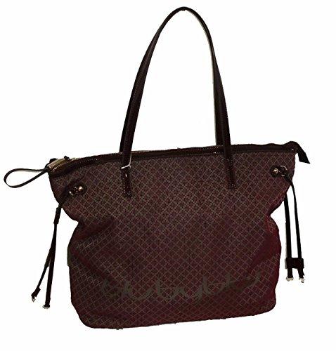 Blu Byblos 635142, Sac pour femme à porter à l'épaule BORDO