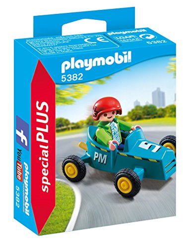 Playmobil Especiales Plus- Boy with Go-Kart Figura