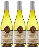 CLOSERIE DES ALISIERS Bourgogne Chardonnay Vin Blanc Sec AOC 75 cl - Lot de 3