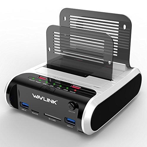 WAVLINK USB 3.0 Base Conexión SATA Docking Station