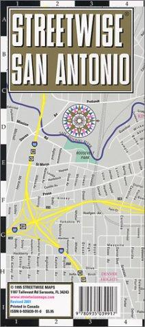 San Antonio par Streetwise Maps