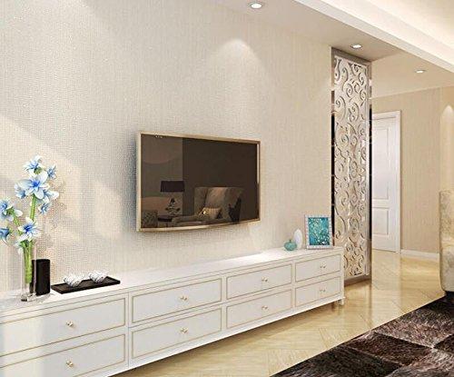 Cczxfcc Moderne Einfache Und Schlichte Stroh Imitation Wohnzimmer Stofftapeten Gewebt Verdickte Bettwäsche Tapeten Volle Shop. Gelb (Gelb Voll Bettwäsche)