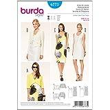 burda 6773 - Patrón de costura para vestido de mujer