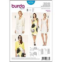 Patrón Burda 6773 Vestido y Chaqueta