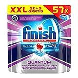 Finish Calgonit Quantum, Spülmaschinentabs, XXL Vorteilspack, 57 Tabs (5 Stück gratis)