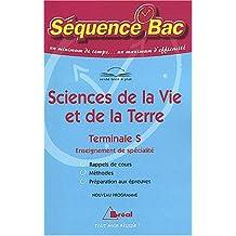 Sciences de la Vie et de la Terre, Terminale S, enseignement de spécialité