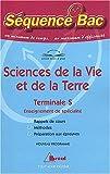 Sciences de la Vie et de la Terre Terminale S Enseignement de spécialité