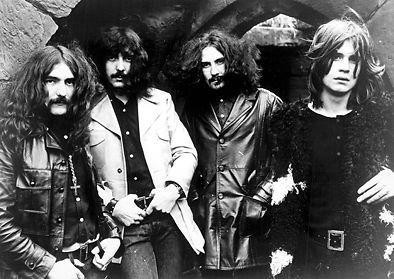 Black Sabbath Band-Heavy Rock Band-Ozzy-A4Poster-Kunstdruck-Bild-Art -