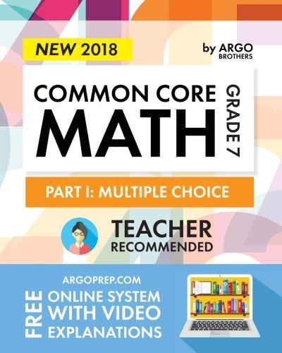 Argo Brothers Math Workbook, Grade 7: Common Core Math Multiple Choice, Daily Math Practice Grade 7 por Argo Brothers