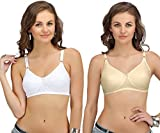 #5: Sona® Womens Post Surgical Mastectcomy Cancer Bra with Free Pad (Pack of 2)