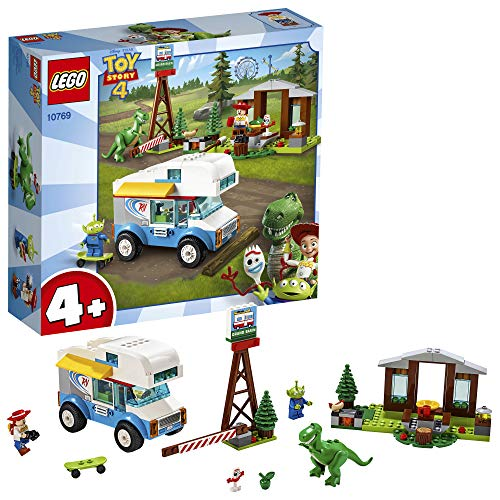 LEGO 10769 4 Toy Story 4 RV Vacation Truck with Jessie Alien Rex and Forky Minifigures