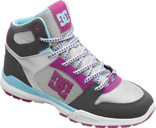 DC Shoes Alias Lite MID Womens Shoe D0303293, Baskets mode femme TRB1Gris400