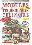 Modules de technologie culinaire BEP-CAP. Tome 1 Les produits (Livre du professeur)