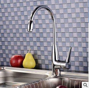 BBSLT Bocca di bagno ware rame cucina lavandino rubinetto acqua calda e fredda doppia