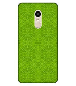 Takkloo plane pattern ( nice pattern, beautiful pattern, Green pattern) Printed Designer Back Case Cover for Xiaomi Redmi Note 4 (2017 Edition)