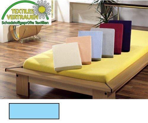 VDP Jersey Spannbetttuch Spannbettlaken Bettlaken 3 Größen Farbe wählbar