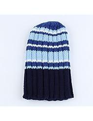 Qiaoba- Chapeau en tricot pour enfants chaude et chaude en hiver