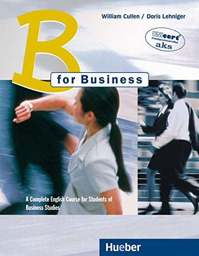 B for Business, Coursebook