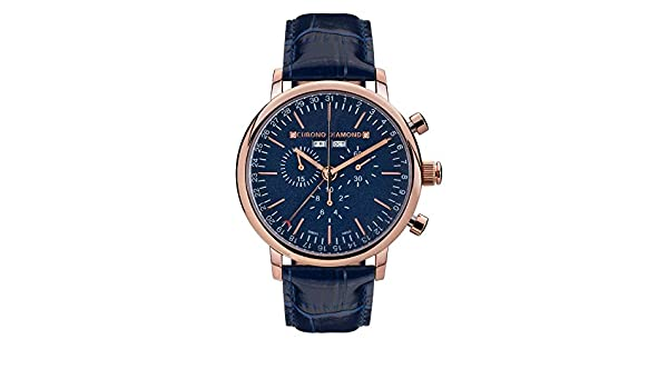 11200J Chrono Diamond Argos roseoro IP azzurro: Amazon.it