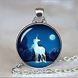 Einhorn Schmuck, das letzte Einhorn inspirierendes Zitat Always Be A Unicorn Zitat Schmuck, Einhorn Halskette Foto Anhänger, Beste Geschenk Weihnachten Geschenk, beste Geschenk