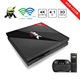 aoxun Android TV Box 3 G + 32G Box Intelligente Android 7.1 H96 Pro + Plus 64 Bit mit WiFi SMART TOP Behälter Box Bluetooth 4.1 und True 4 K Playing