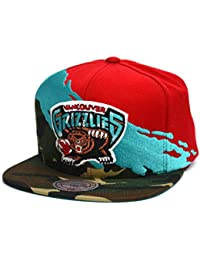 03a0952730393 Gorras Vancouver Grizzlies Hwc Paintbrush Camo Snapback - Mitchell   Ness